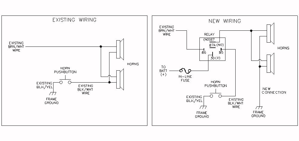 AUXHORNB need help with dual horn install honda cbr250r forum honda wiring diagram for horn relay at beritabola.co